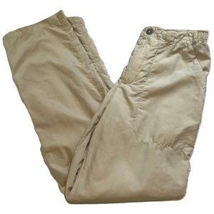 Patagonia Solid Khaki Lightweight Hiking Pants